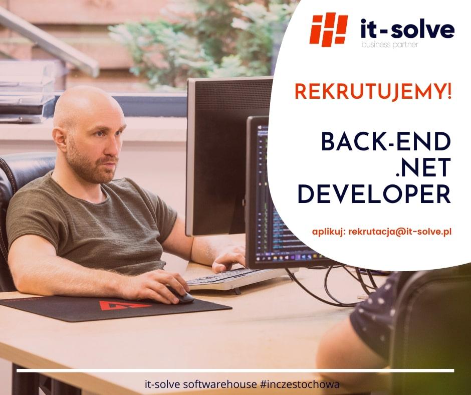 Back-end .net developer